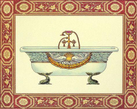 Bath Tubs I Stampe di Sheila Higton su AllPosters.it