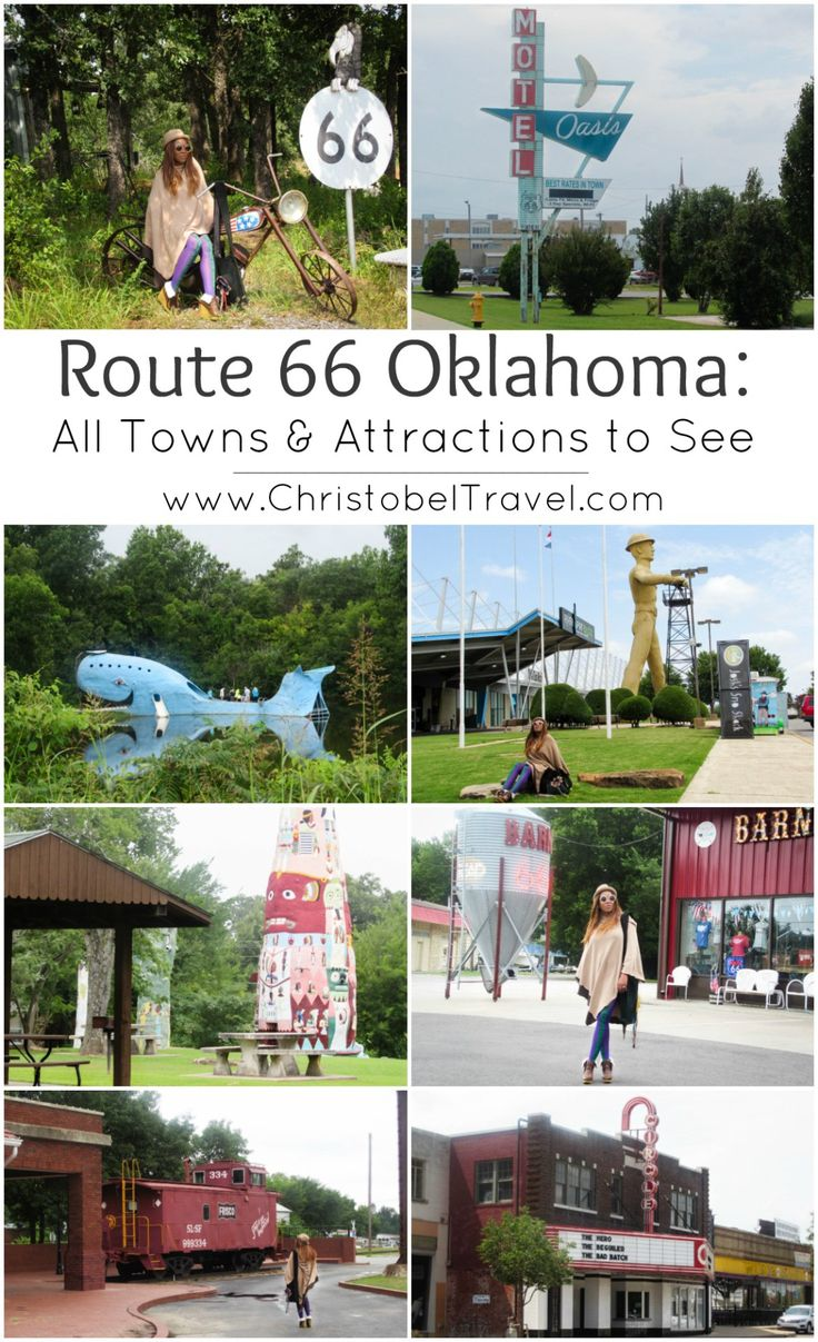 Route 66 Oklahoma All Towns u0026 Attractions