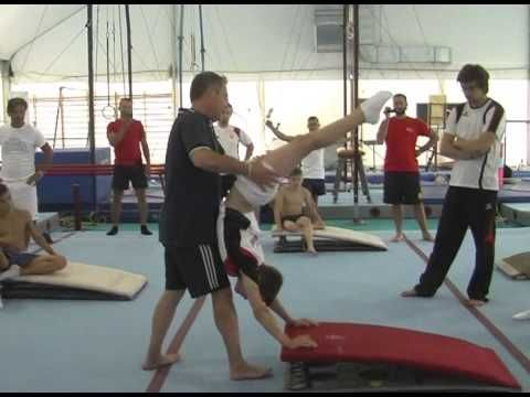 Physical preparation and joint training in gymnastics - YouTube