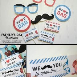 Free Father's Day Printables via @Jamielyn {iheartnaptime.net} | Father's Day Project Ideas