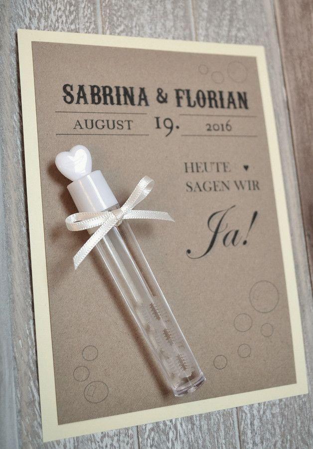 Seifenblasen Wedding Bubbles Hochzeit