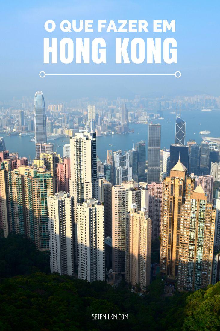 O que fazer em Hong Kong: As principais atrações da ilha de Hong Kong, incluindo templos, um parque lindo e o lugar pra onde eu iria se só tivesses alguma horas na cidade!