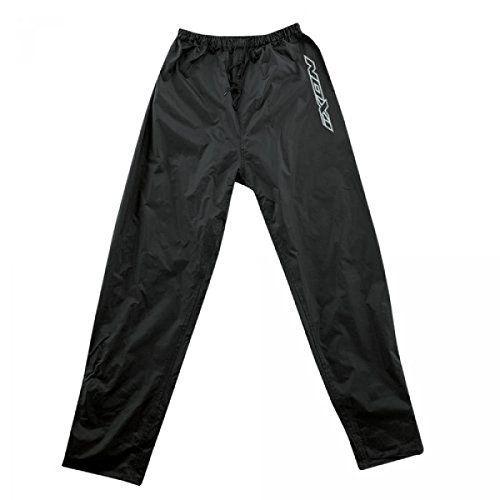 Ixon – Pantalon de pluie moto FOG – Taille : M – Couleur : Noir [Divers]: Pratique et simple d'utilisation, ce pantalon de pluie sera idéal…