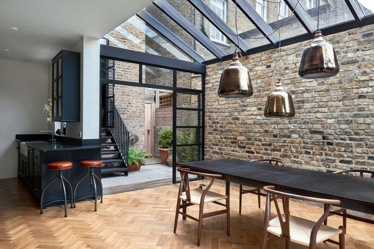 #veredasarquitetura ----- VEREDAS.ARQ.BR ------inspiração-- A Home Extension In London: 115 Highbury Hill by Blee Halligan