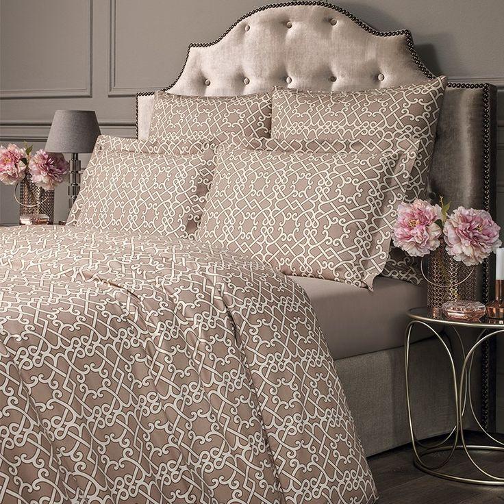Комплект постельного белья Монограмма