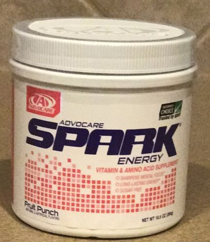 Energy Bars Shakes and Drinks: Advocare Spark Energy Drink Canister Fruit Punch 10.5 Oz -> BUY IT NOW ONLY: $45 on eBay!