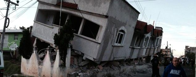 Earthquake rattles Mexico, Guatemala. (Rigoberto Gonzalez/Twitter) TUXTLA GUTIERREZ, Mexico (AP) — A magnitude-6.9 earthquake on the Pacific Coast jolted a wide area of southern Mexico and Central America Monday, killing at least three people and damaging dozens of homes.