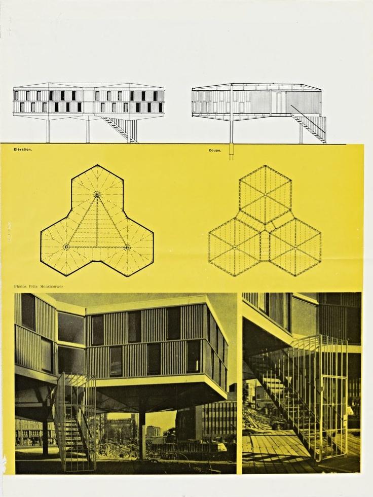 Marcel breuer building piece rotterdam architecture pinterest marcel b - Marcel breuer architecture ...