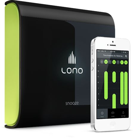Lono Sprinkler Controller and iPhone App