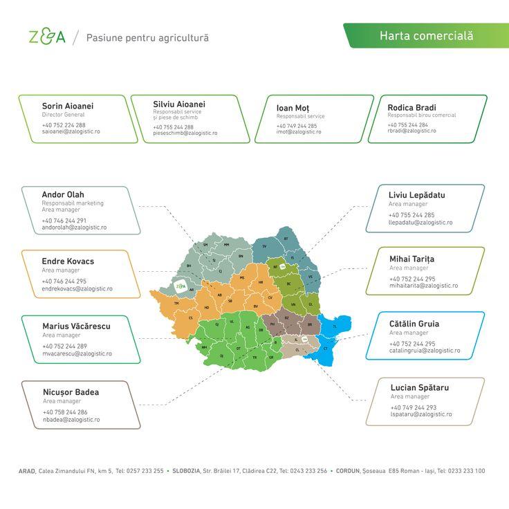 Cauți utilaje agricole sau piese? Găsește reprezentantul Z&A Logistic cel mai apropiat de tine și contactează-l direct pentru a afla detaliile necesare!