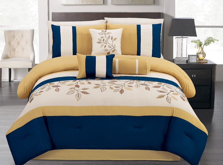 54 best all things blue gold images on pinterest blue gold blue yellow and baking. Black Bedroom Furniture Sets. Home Design Ideas