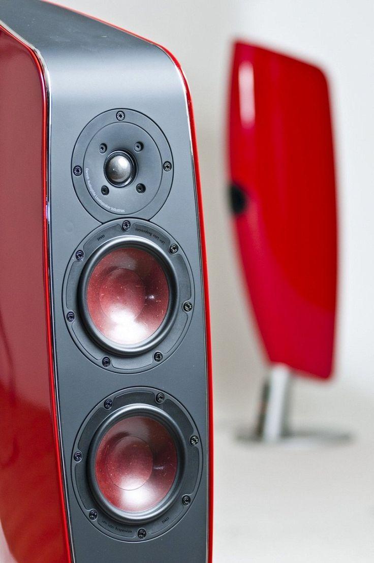 Enceintes colonnes #Dali Fazon F5 : Un son mélodieux et précis. #EasyLounge #speaker