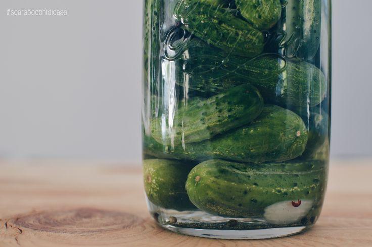 🥒🥒 #scarabocchidicasa #home #myhome #homedesign #homedecor #kitchen #bormiolirocco #quattrostagioni #quattrostagionibormiolirocco #bormioliroccus #barattolo #barattoloinvetro #glass #cetrioli #cetriolisottaceto #green #sottaceto #cucumber #cucumbers