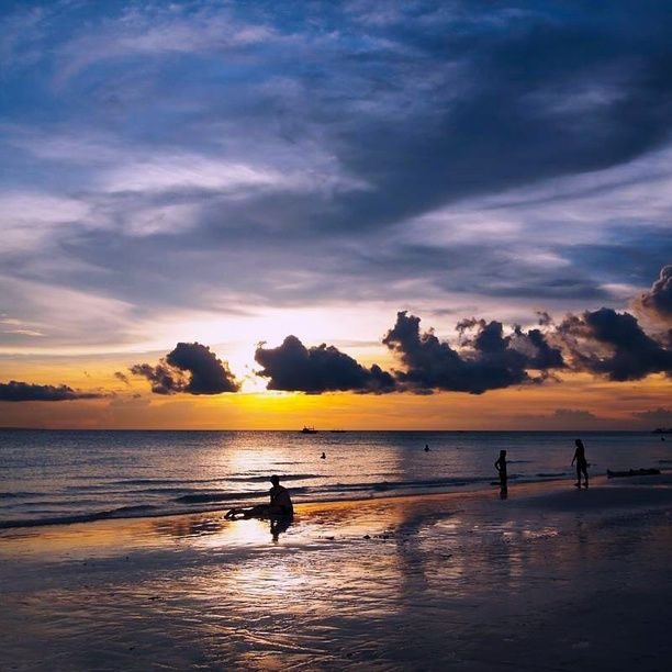 Boracay Beach Houses, Malay, Philippines — by Adelle Agustin. The sun, sea and sand. Beach at its finest. Dusk at its best. This is Boracay. A beach like no other. An experience...