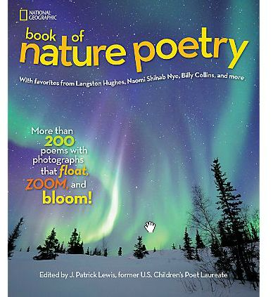 National Geographic: Book of Nature Poetry - Holiday Gift Guide | Celeb Baby Laundry