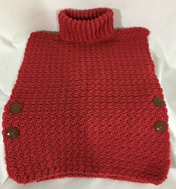 A personal favorite from my Etsy shop https://www.etsy.com/ca/listing/525186446/girls-crochet-pull-over-watermelon-red