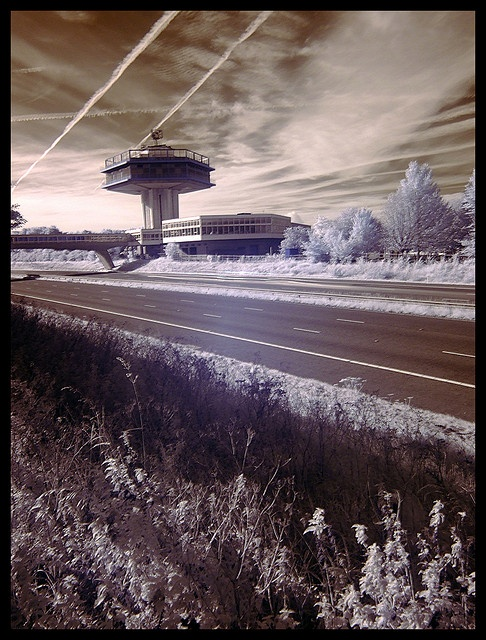 Space Station Forton (Lancaster services, UK) by Ross Finnie [20Hz], via Flickr