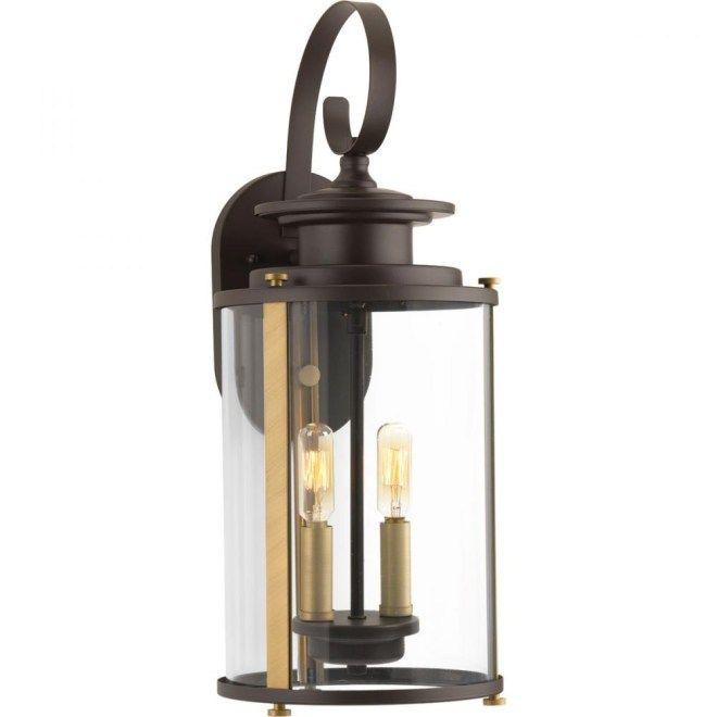 Exterior modern lantern light fixture