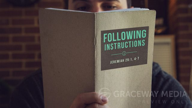 """Following Instructions"" is a Title Still containing a Title Layout and two unique Content Layouts. Download Jpegs in both 16:9 (widescreen) and 4:3 (standard) format or PowerPoint presentations ready for your bullet points. Take full creative control and download the layered Photoshop file (PSD)."