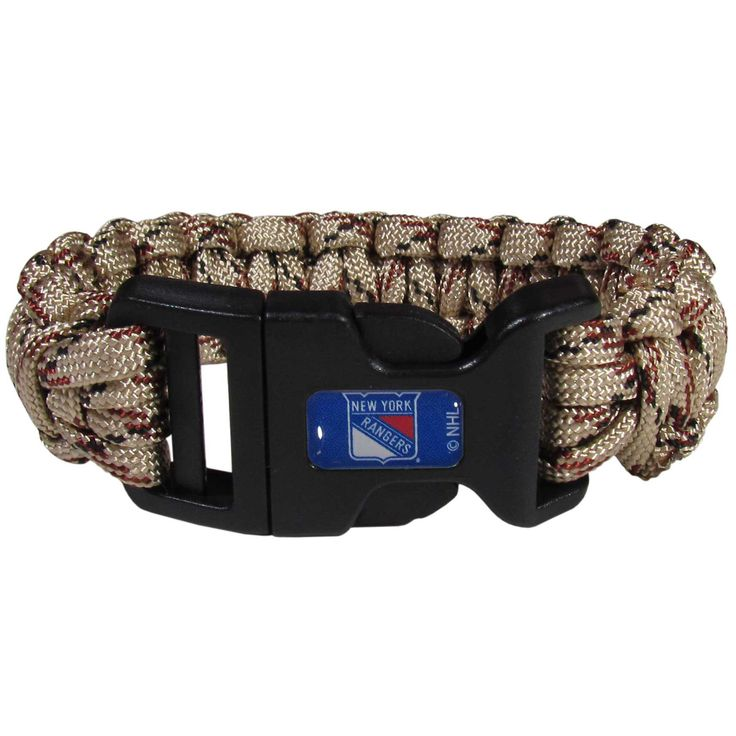 New York Rangers® Camo Survivor Bracelet