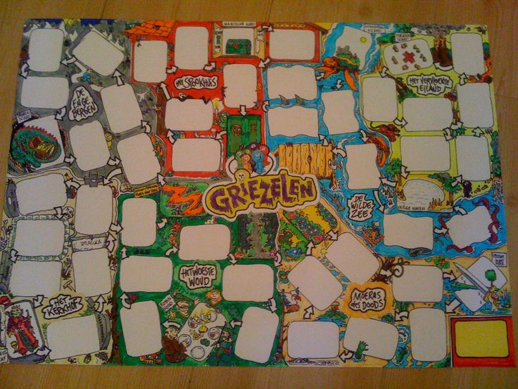 """Boardgame called """"Griezelen"""" (Shivering with Fear) not yet on the market. Game for children (7-12) and families, where you have to collect monsters and overcome fears."""