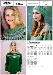 246R-6 Rundfelt genser
