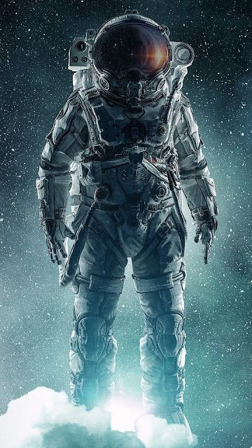 CGI Artwork Astronaut Wallpaper