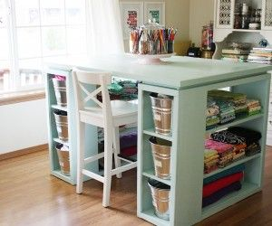 Top 14 Amazing Modern Craft Table Picture Ideas