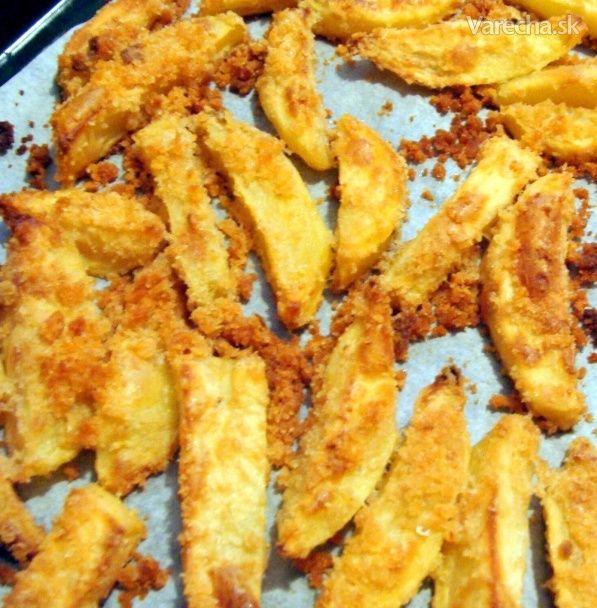 Pečené zemiaky so strúhankou