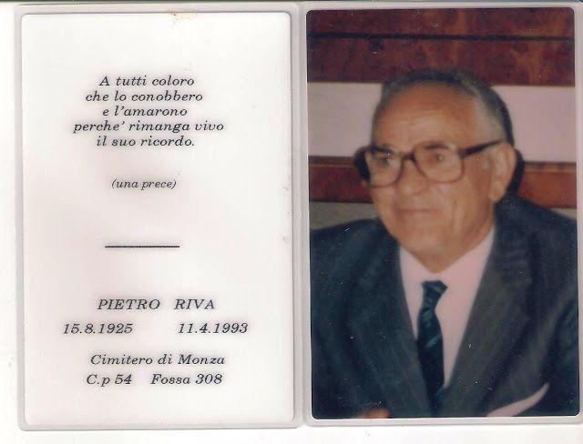STORIA DEI RIVA: RIVA PIETRO (PIERIN)