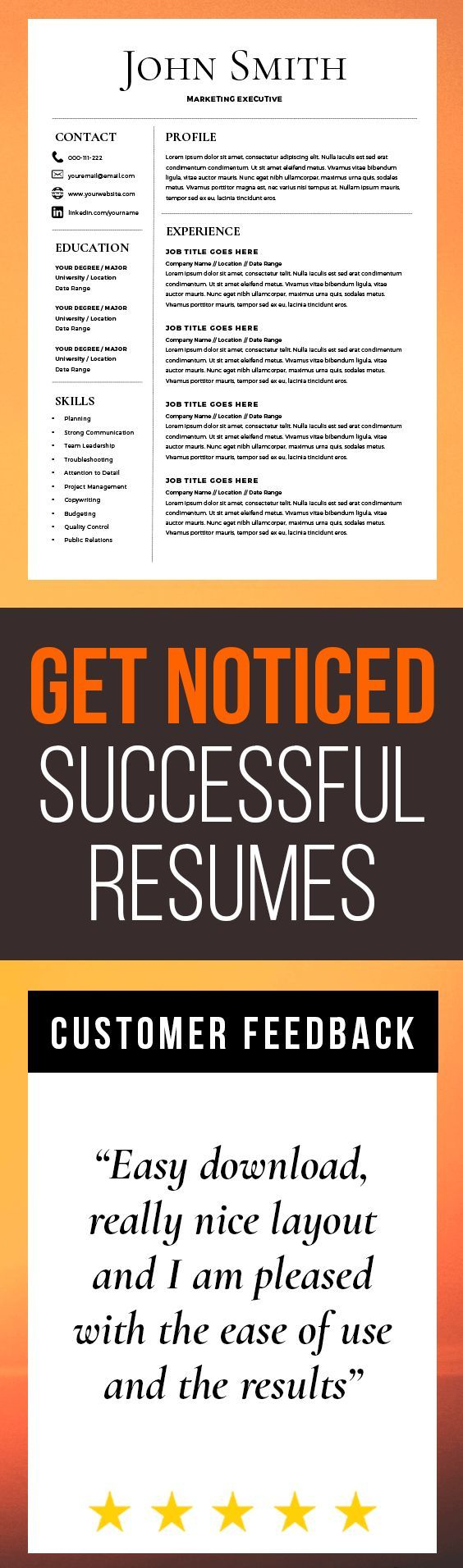 The 25+ best Resume templates word ideas on Pinterest | Cover ...