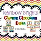 If you are looking for a bright, spunky chevron classroom décor, than this is the pack for you. This classroom décor mega pack includes the followi...