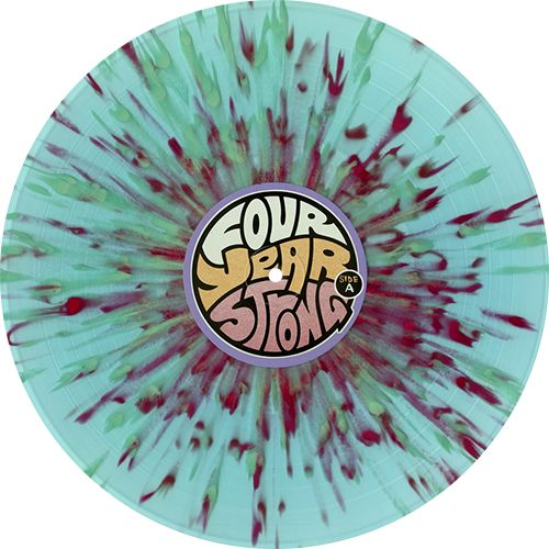 Four Year Strong - Four Year Strong. If you want to customize a good-looking vinyl record and vinyl packaging, visit www.unifiedmanufacturing.com.