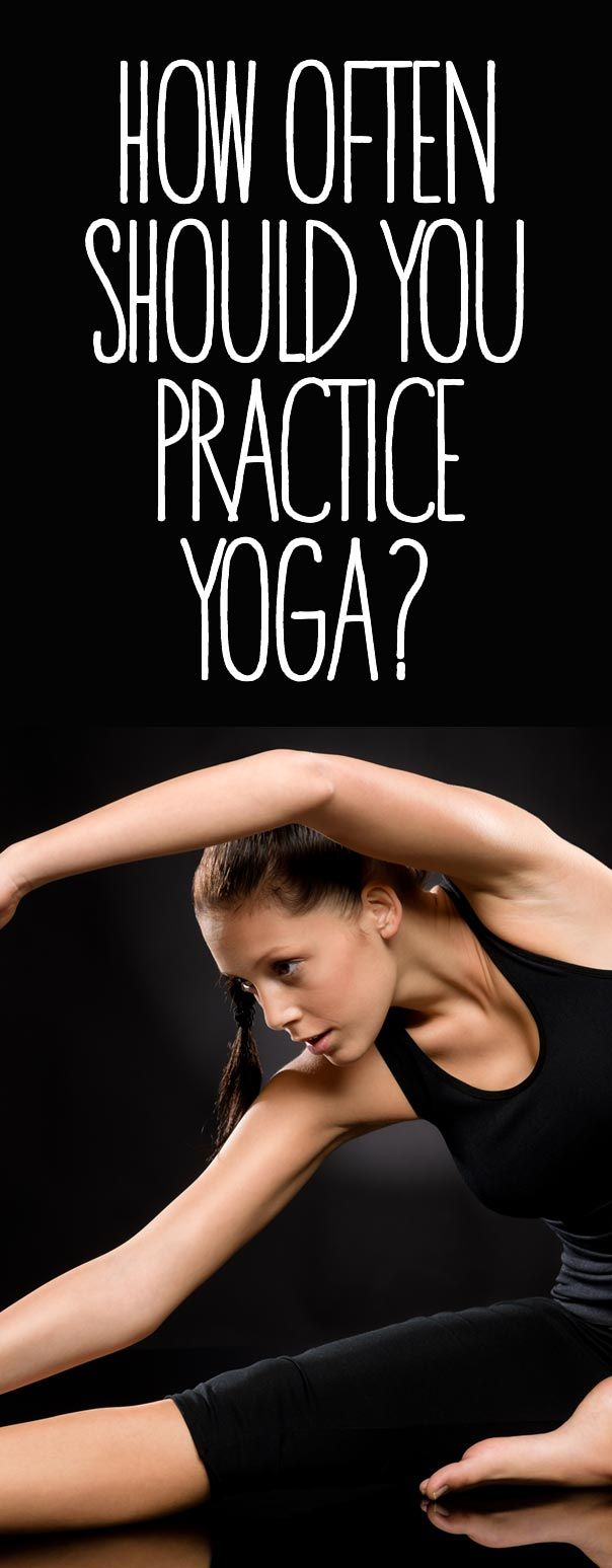 How Often Should You Practice Yoga? This question is asked quite a lot by newbie yogis and although ideally it should be practiced everyday this is often not realistic for many. How often one should practice Yoga also depends on many other factors, which will differ from one Yoga practitioner to the next.
