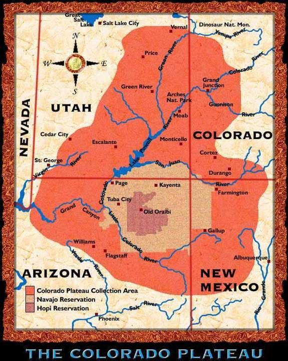Colorado Plateau & Grand Canyon Photos & Geology | LiveScience