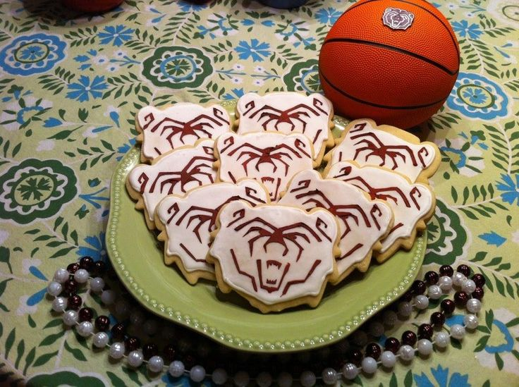 Missouri State University bear cookies