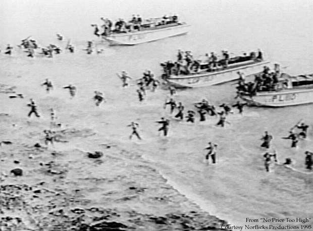 WW2 Dieppe Raid.....Canadian forces on France beach.....Aug 19, 1942