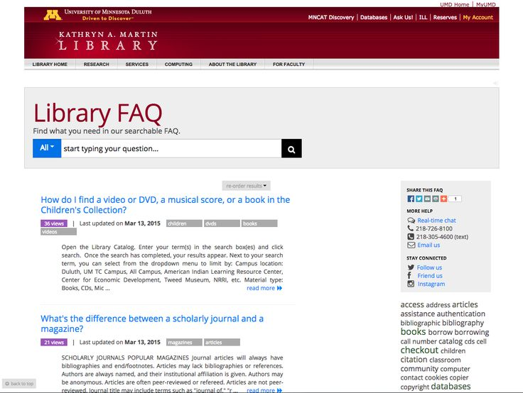 University of Minnesota Duluth Kathryn A. Martin Library