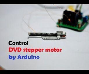 Dvd Stepper Motor Arduino