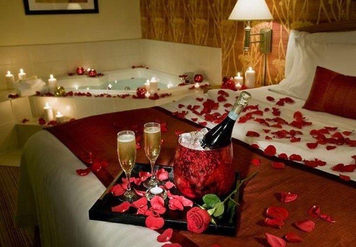 40 Lovely Valentine Home Decor Ideas For Couples Pimphomee Valentines Bedroom Romantic Decor Valentine Bedroom Decor