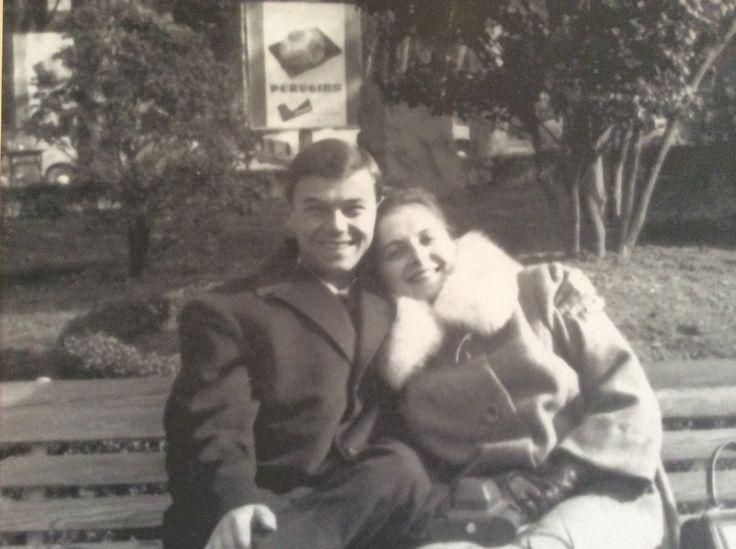 Lori e Angelo, Luna di miele, La Spezia 1964