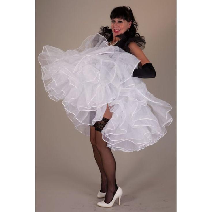 Setrino Petticoat Puffy Fifties Petticoat Style By