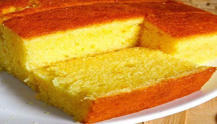 This simple dessert calls for freshly grated orange rind instead of orange juice. Choosing to use the rind actually gives citrus–derived baking recipes a stronger lingering citrus flavour and aroma.orange butter cake