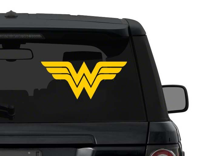 Wonder Woman Decal Sticker for Car Truck Laptop 3-25 inches die cut vinyl ANY COLOR by InfernoDecals on Etsy https://www.etsy.com/listing/221800100/wonder-woman-decal-sticker-for-car-truck