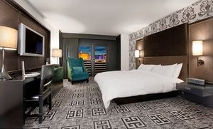 Groupon - Stay at Hard Rock Hotel & Casino Las Vegas, with Dates into January. Two-night minimum required.  in Las Vegas. Groupon deal price: $39
