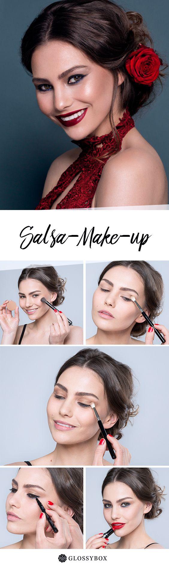 Salsa, Make-up, Red Lip, Tutorial