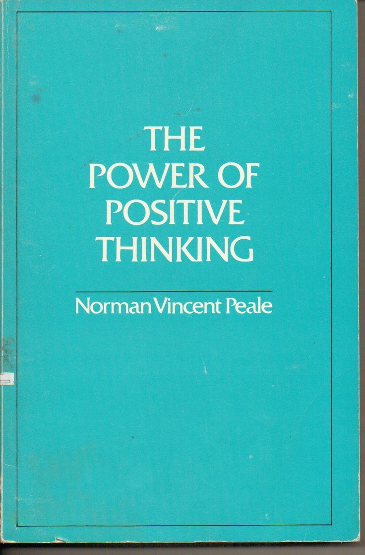 the power of positive thinking by norman vincent peale pdf