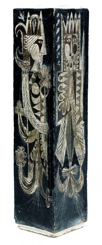 jean-derval-1925-2010-grand-vase-corps-quadrangule, Tajan