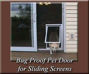 Dog Door Sliding Patio Door | High Performance Pet Screen Door For Sliding  Screen Doors