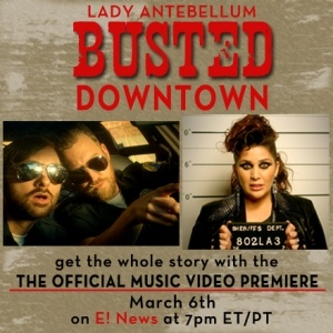 New Music Video for Downtown Premieres Exclusively on E! News March 6th!